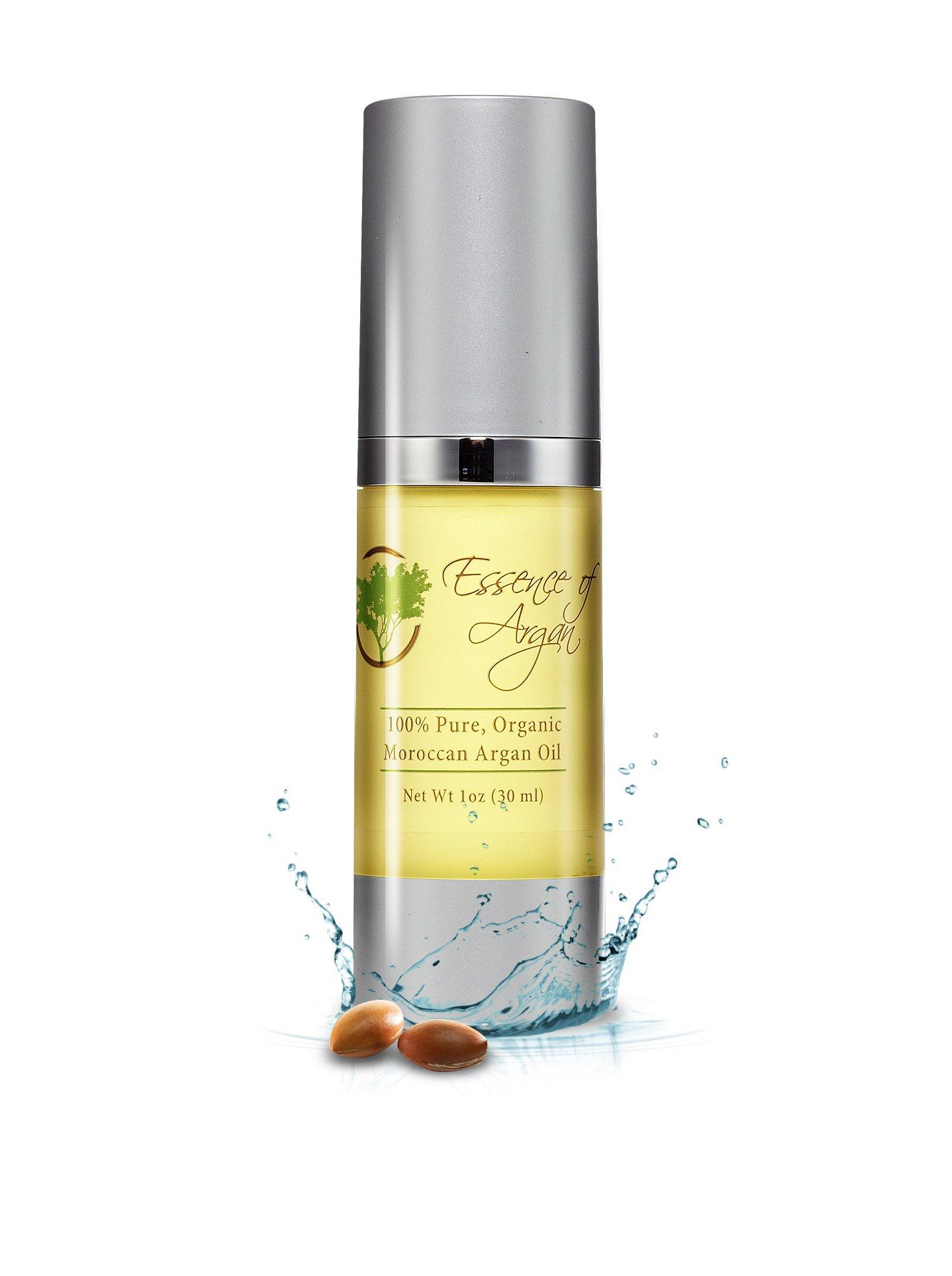 Essence of Argan Pure Organic Moroccan Argan Oil, 30 ml