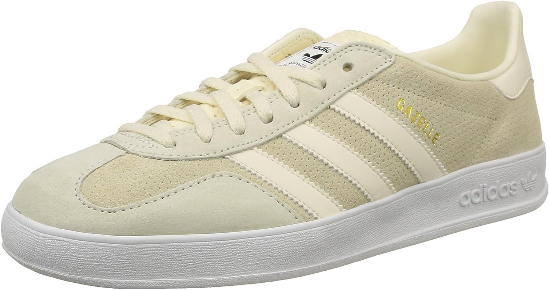 Adidas Herren Gazelle Indoor Sneaker, rot Bianco Blanc Cream White Cream White White