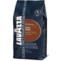 Lavazza Super Crema Whole Bean Coffee Blend, Medium Espresso Roast, 2.2-Pound Bag