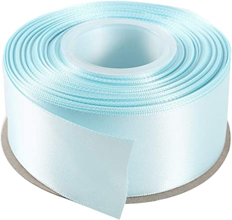10Rolls Satin Ribbon Gift Wrap For Party Florist Crafts Decoration 25Yards//Roll