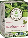 Traditional Medicinals Organic Raspberry Leaf Herbal Tea, 16 Tea Bags (Pack of 1)