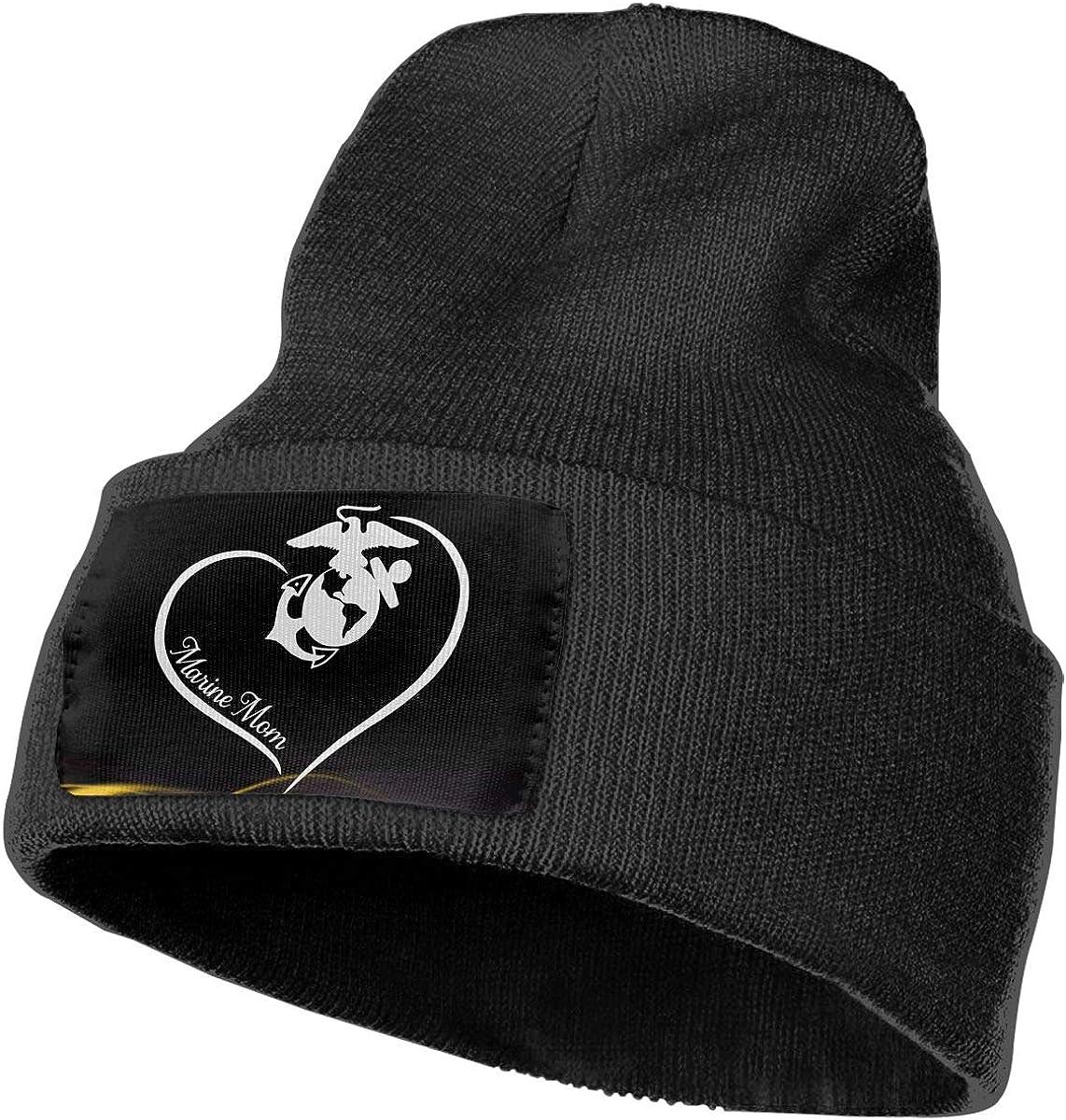 Marine Mom DFKD JKFD Unisex 3D Knitted Hat Skull Hat Beanie Cap