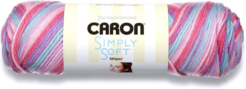 5 oz Caron 29401919007 International 29401919007 Simply Soft Stripes Jersey Shore