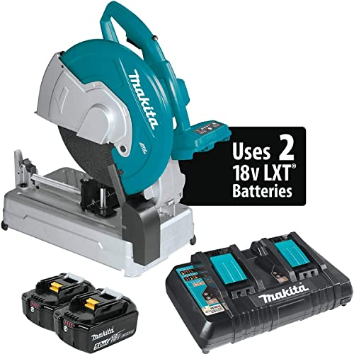 Makita XWL01Z 18V X2 LXT Lithium-Ion 36V Brushless Cordless 14 Cut-Off Saw