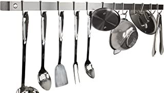 product image for Enclume Premier 48-Inch Utensil Bar Wall Pot Rack, Stainless Steel