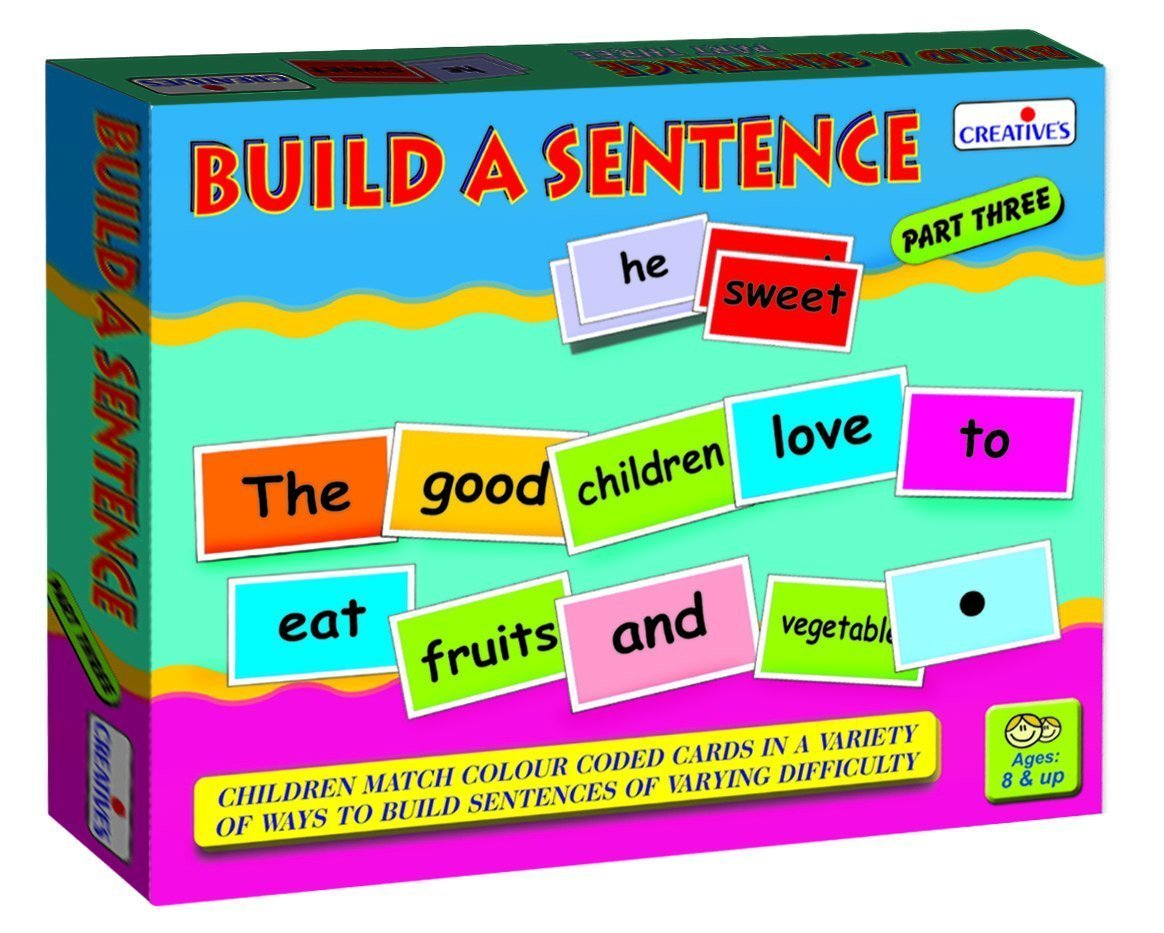 Buy Creative Educational Aids 0940 Build a Sentence - III Online at ...