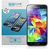 Yousave Accessories Pellicola Protettiva per Samsung Galaxy S5, Confezione da 3
