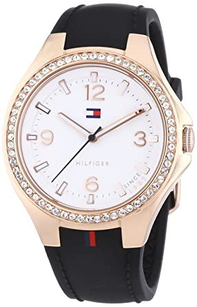 Tommy Hilfiger 1781375 Ladies White and Black Toni Watch