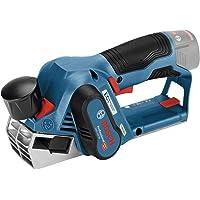Bosch Professional GHO 12V-20 - Cepillo a batería (12V, 14500 rpm, ajuste 2 mm, sin batería, en caja)