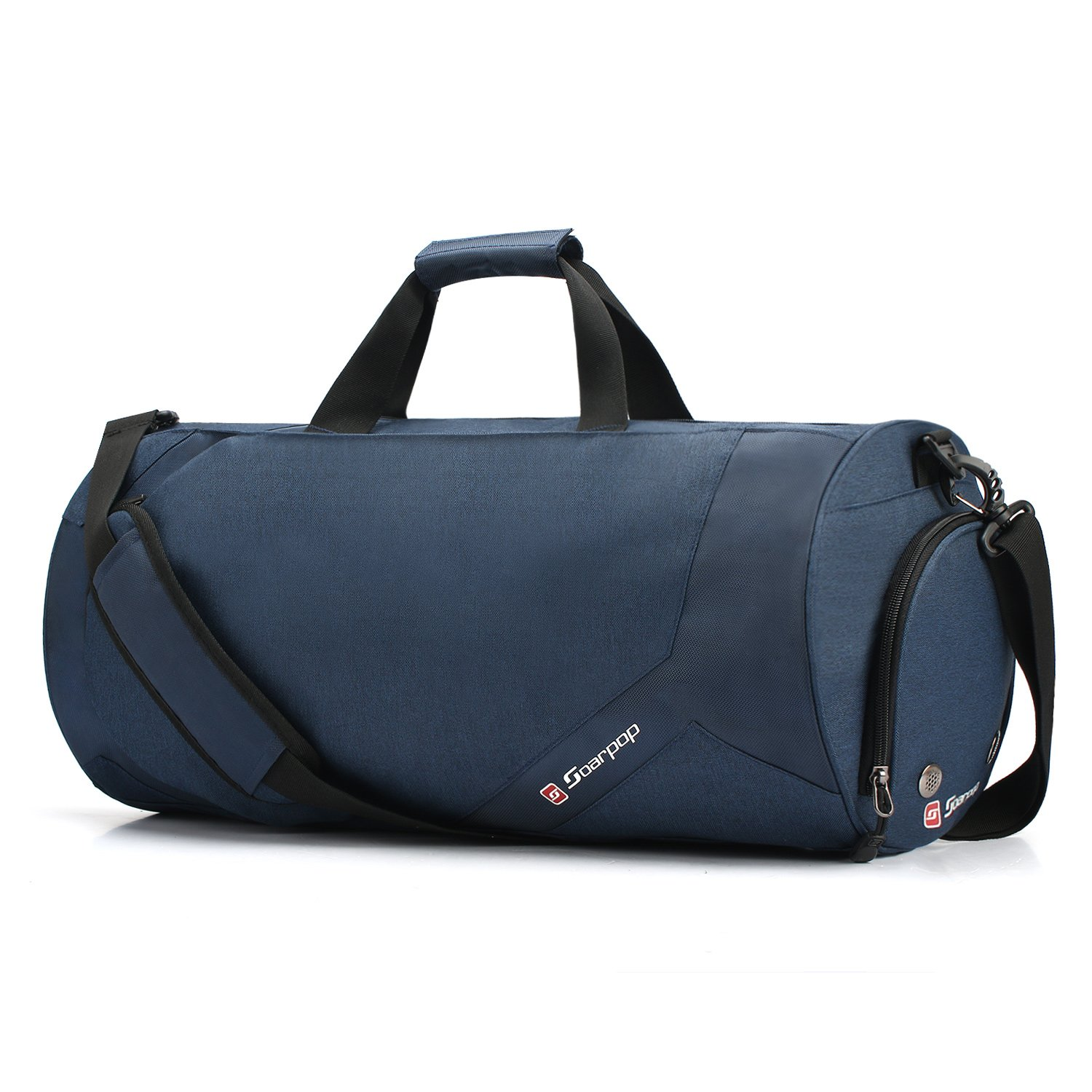 Travel Luggage Gym Lightweight Tote Duffel Bag Travel overnight weekender bag with Shoe Pouch SOARPOP BH7870