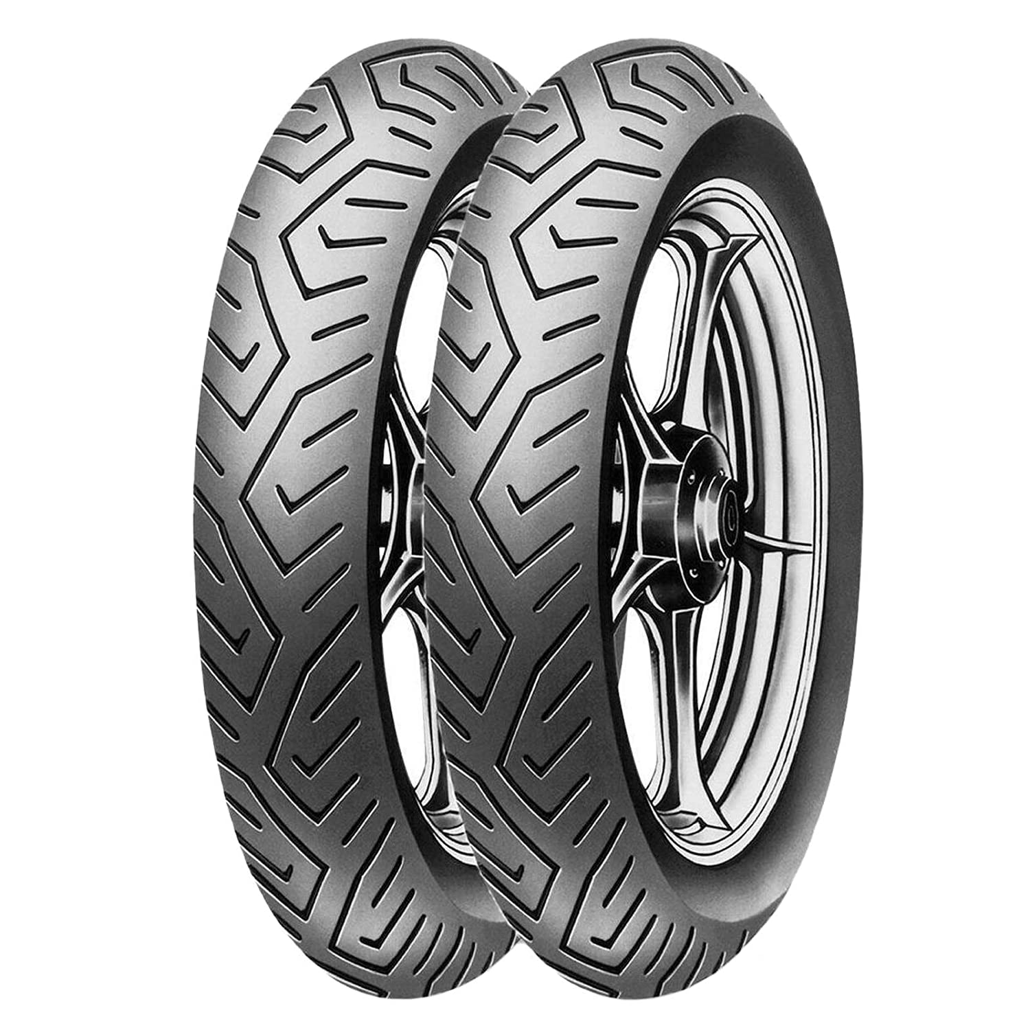 120//80 16 PEUGEOT LXR 125 200 Coppia gomme Scooter PIRELLI MT75 100//80 16