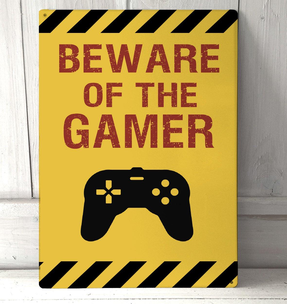 Artylicious Beware of the Gamer, divertida cita de juego A4 ...
