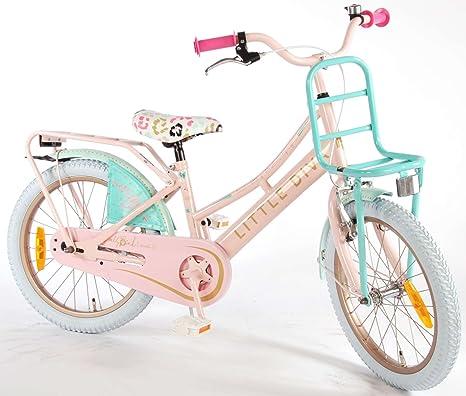 Bicicleta Chica 18 Pulgadas Little Diva Rosa Azul 95% Montado ...
