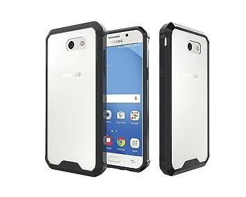 ARSUE Galaxy J3 Emerge Case,Galaxy J3 Eclipse Case,J3 Mission Case,J3 Prime  Case,Galaxy Express/Amp Prime 2 Case, Slim Crystal Clear Transparent