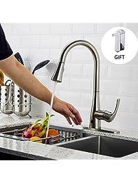 Touchless Kitchen Sink Faucets Amazon Com