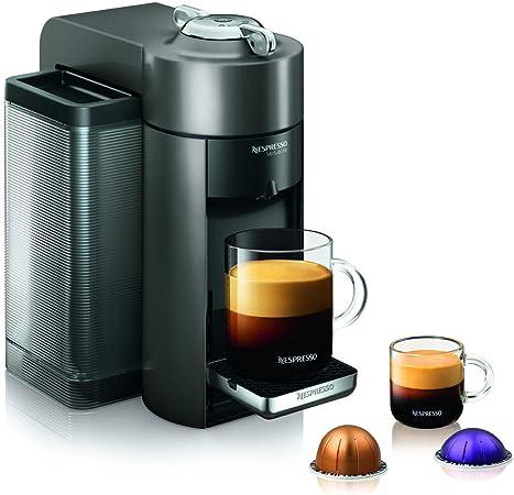 Amazon.com: Nespresso GCC1-US-BK-NE VertuoLine Evoluo Deluxe ...