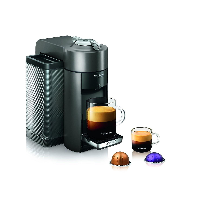 Nespresso GCC1-US-BK-NE VertuoLine Evoluo Deluxe Coffee and Espresso Maker, Black (Discontinued Model)