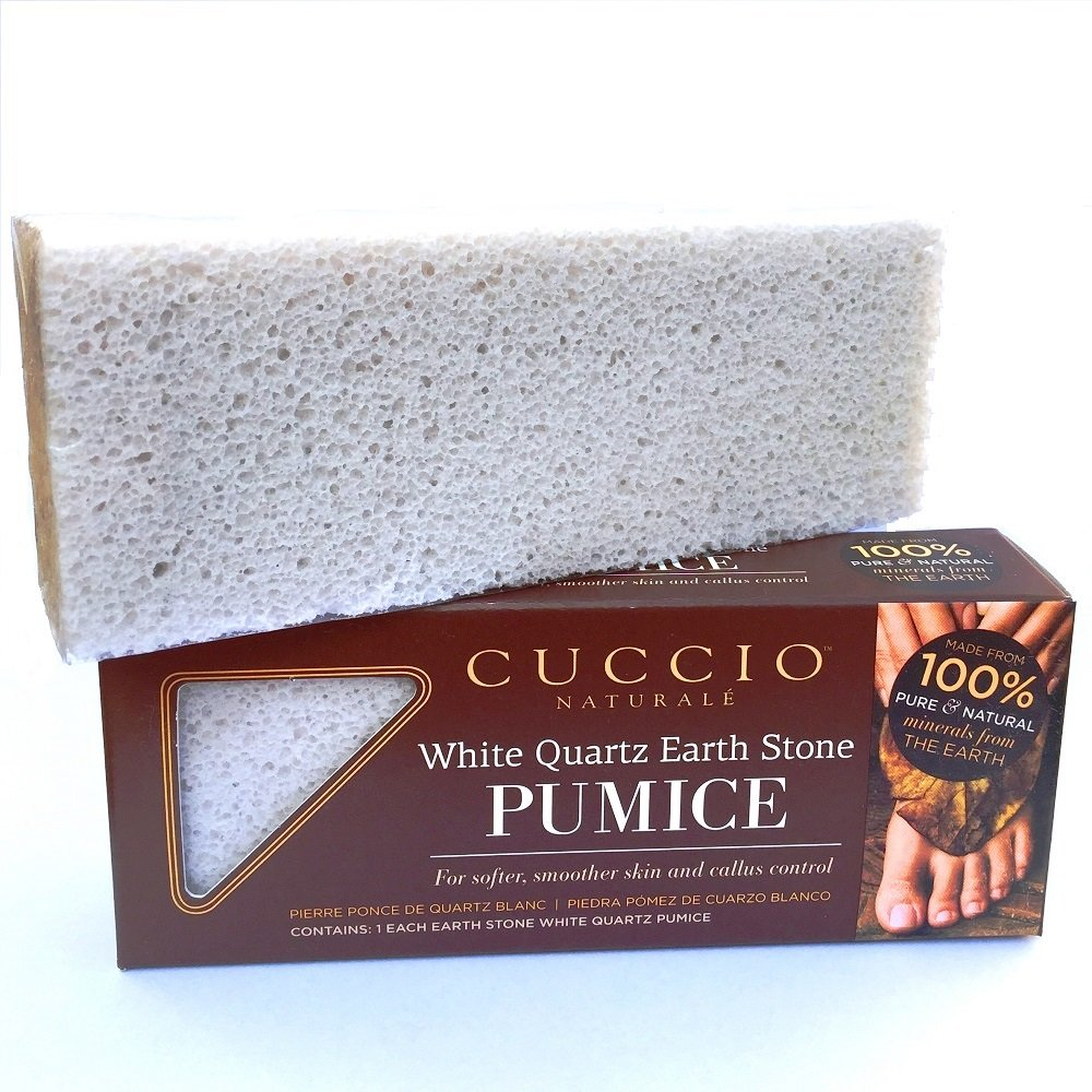 Cuccio Natural Pedicures - White Quartz Earth Stone Pumice Cuccio Professional 3322