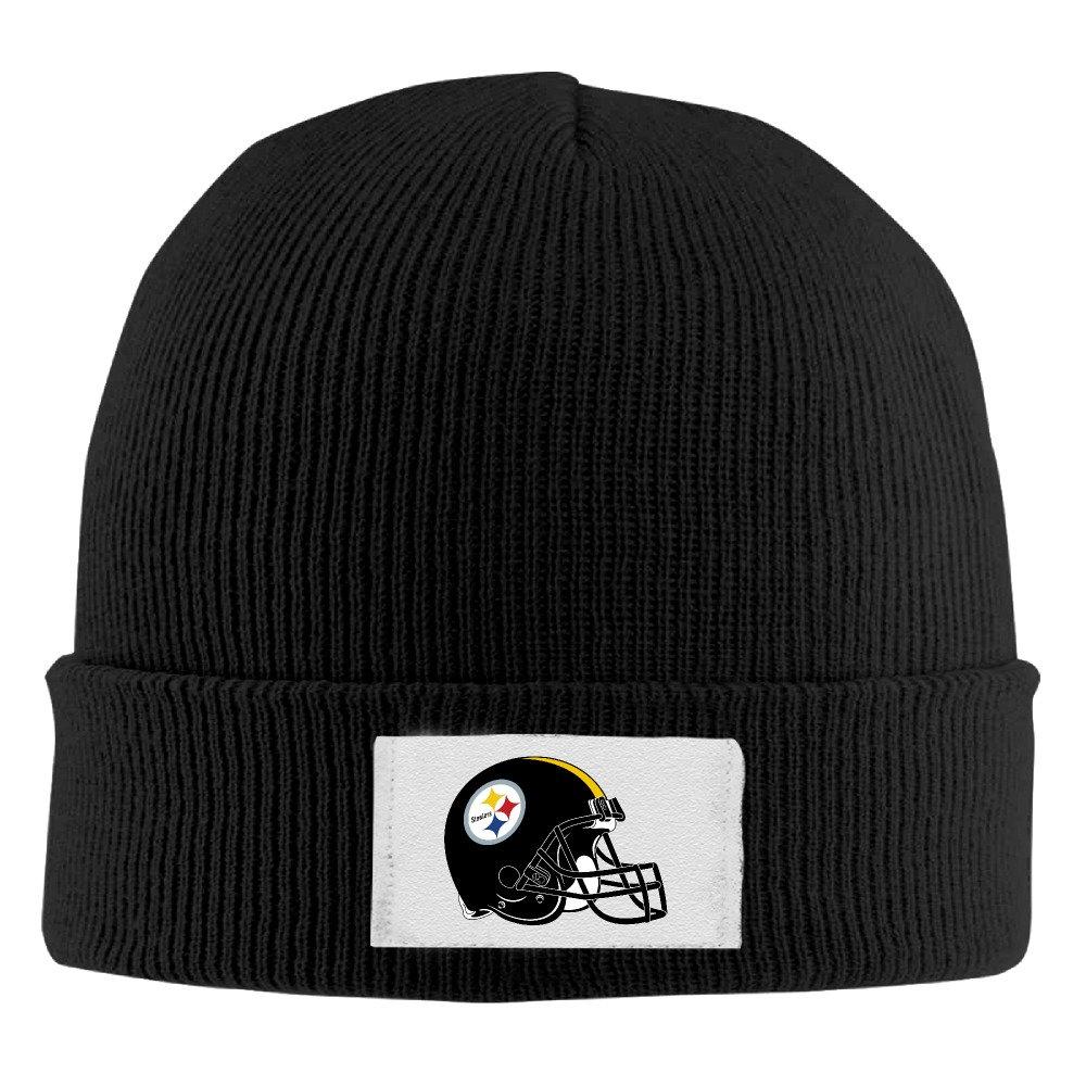 98b452e1d MYsunn Pittsburgh Steelers Helment Football Logo Winter Knit Cap ...