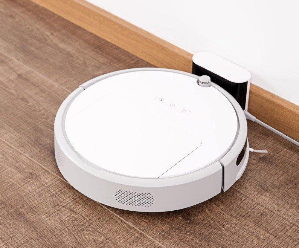 JJYJQR Robot Aspirador Limpiador Inteligente Xiaowa Aspirador 1600Pa 2600Mah Smart Planned Cleaning Para Home Office Sweep App Control, Spart Parts: ...