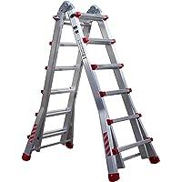 Nawa Escalera telescópica plegable profesional de aluminio 6+5