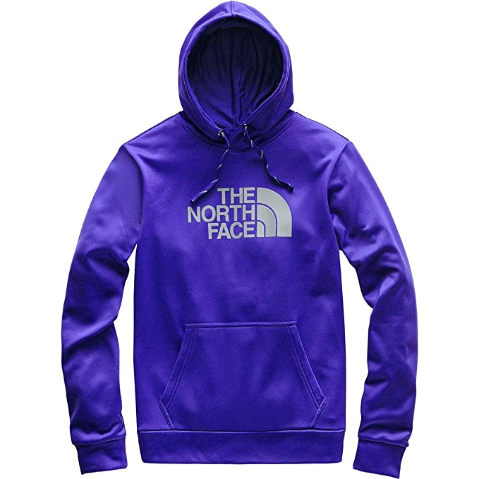 4abce5140 The North Face Men's Surgent Pullover Half Dome Hoodie 2.0, Aztec Blue/Mid  Grey