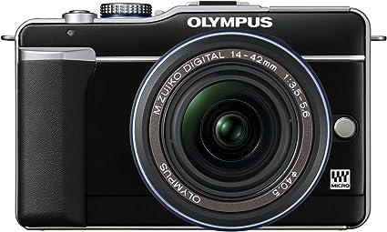 Olympus Pen E Pl1 Systemkamera 2 7 Zoll Gehäuse Schwarz Kamera