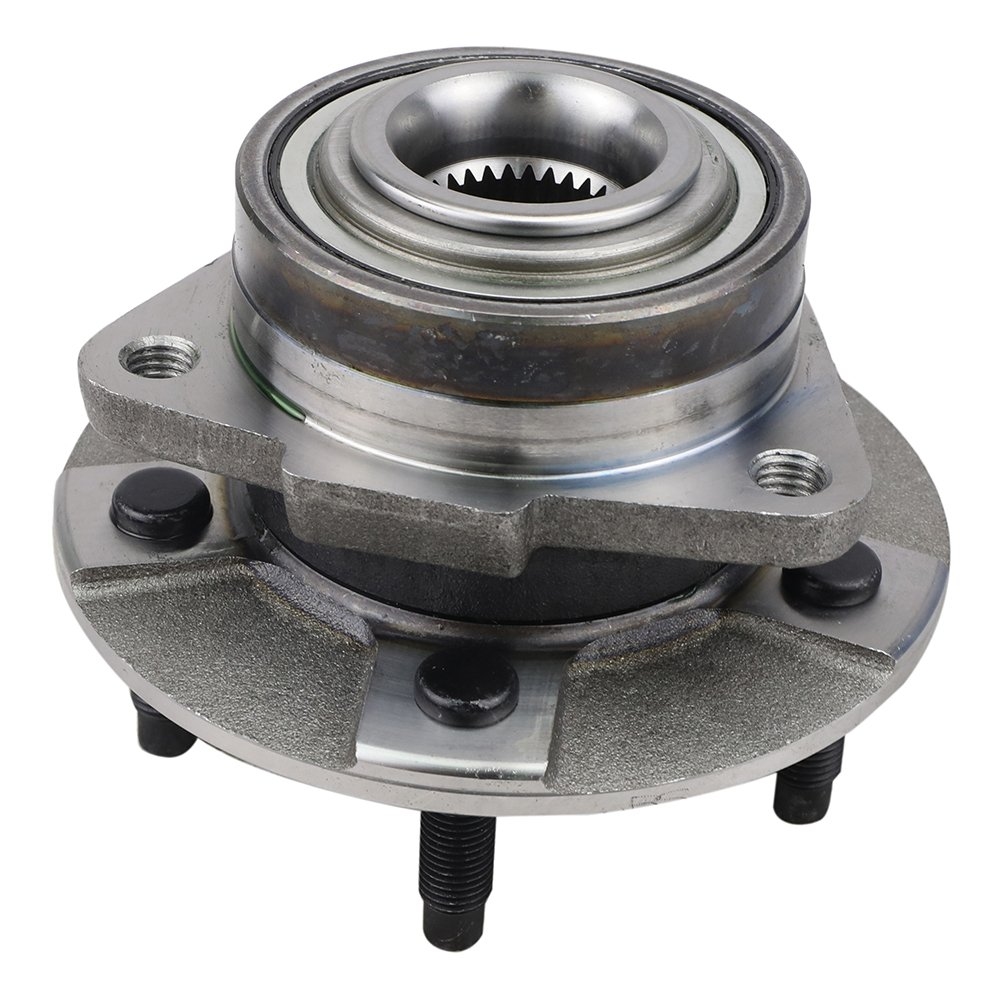 CRS NT513190 New Wheel Bearing Hub Assembly, Front Left/Right Side, for 2002-2007 Saturn Vue, 2005-2006 Chevy Equinox, 2006 Pontiac Torrent, FWD/ 4WD, w/o ABS