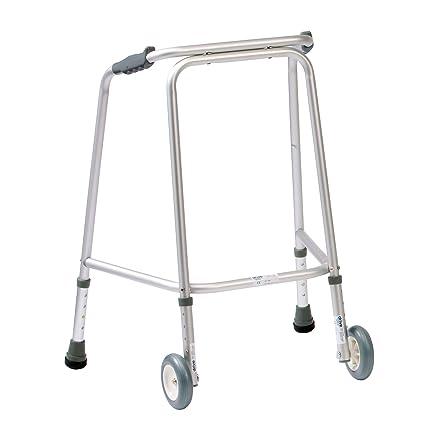 NRS Healthcare - Andador (con ruedas) altura ajustable ...