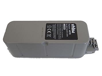 vhbw Batería NiMH 3300mAh (14.4V) para aspirador, Roboter Vileda M-488a como APS 4905.