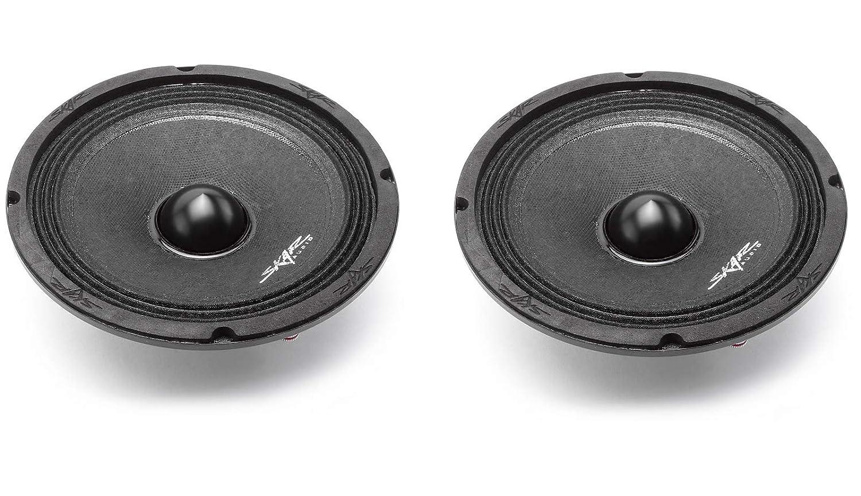 Skar Audio NPX65-4 6.5 300 Watt 4-Ohm Neodymium Pro Audio Mid-Range Loudspeaker 2 2 Speakers