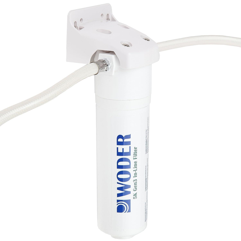 Woder 5K-Gen3-DC Direct Connect Under Sink Water Filter 5000gal