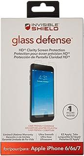 pretty nice d753b ec4c4 Amazon.com: ZAGG InvisibleShield HDX Screen Protector - HD Clarity + ...