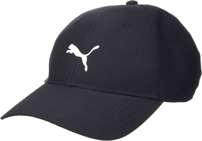 Puma Golf 2018 Men's Pounce Hat (Puma Black, One Size) : Clothing