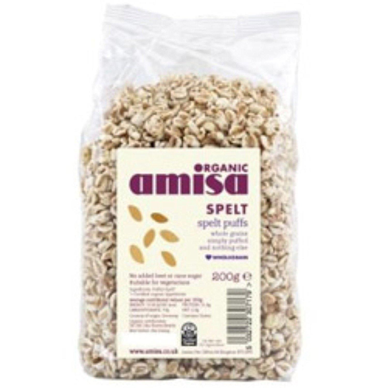 Amisa Organic - Spelt Puffs - Honey - 200g