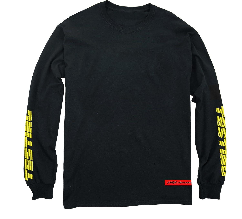 ASAP Rocky Testing Long Sleeve t Shirt