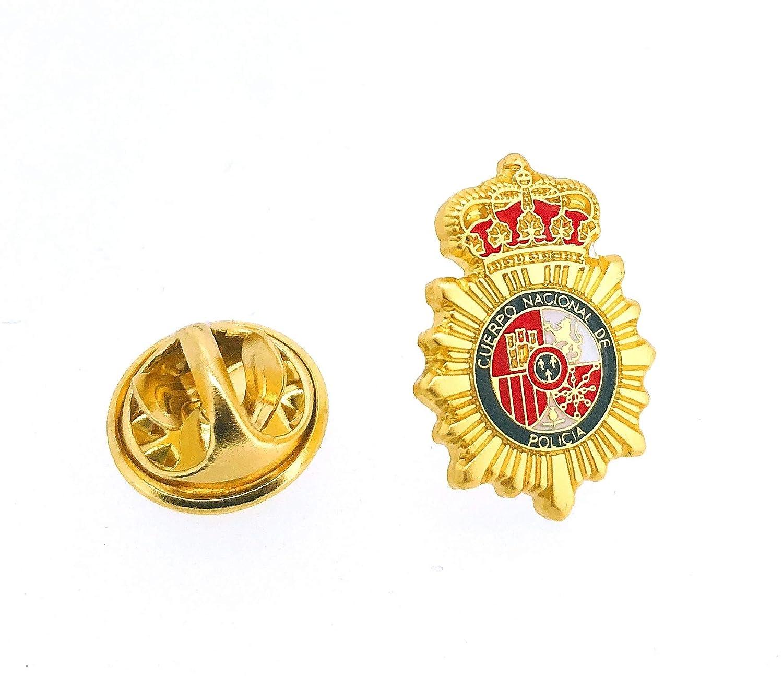 Gemelolandia Pin de Traje Emblema Policia Nacional