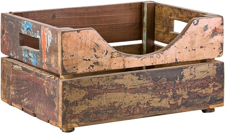 Caja rústica reciclado: Amazon.es: Hogar