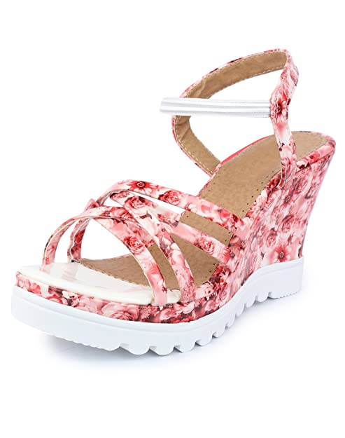 c1bdc029e7a Do Bhai Paris Smart Wedges for Women  Buy Online at Low Prices in India -  Amazon.in