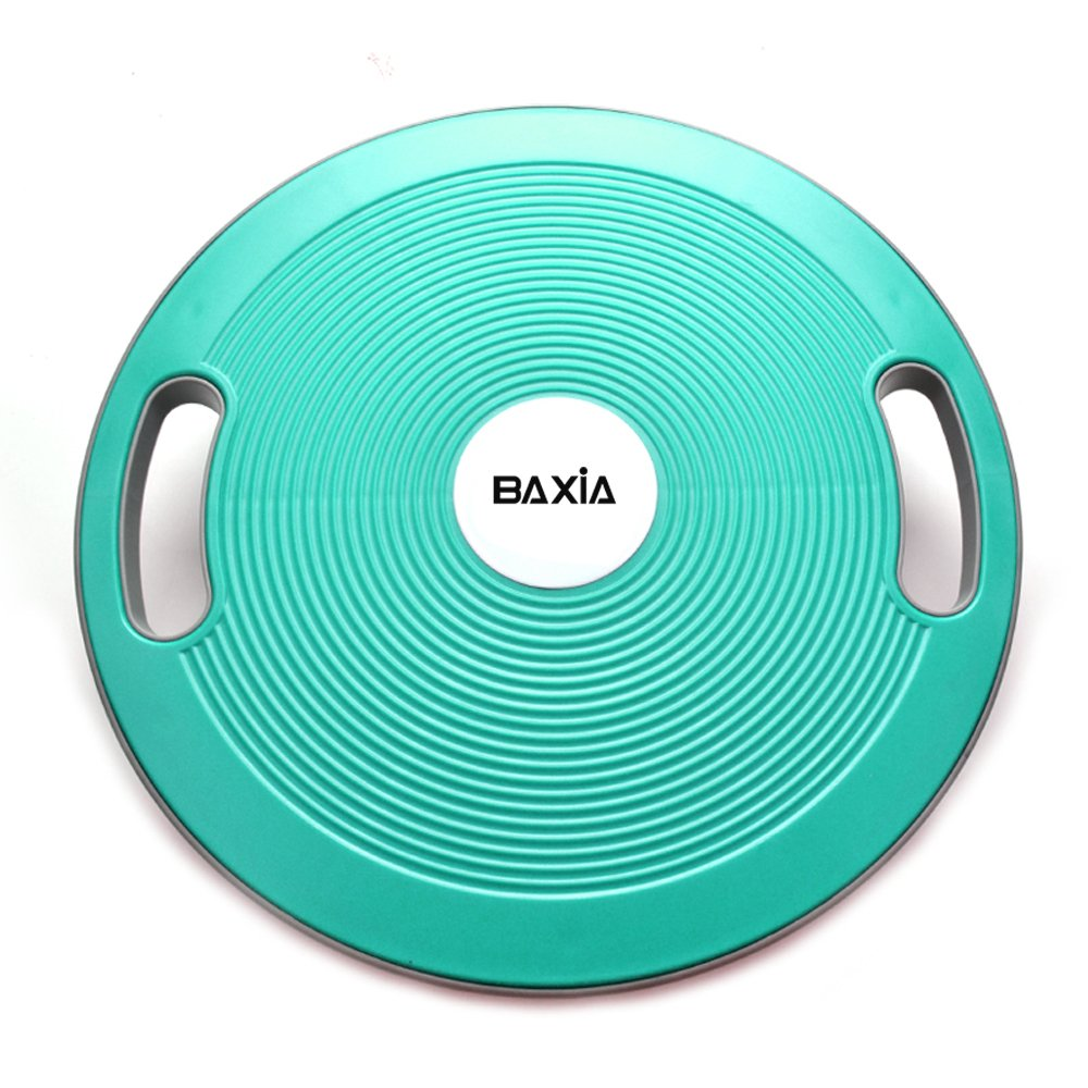 BAXIA TECHNOLOGY Wobble Balance Board Balance Training Home Fitness Workouts, Round & Plastic