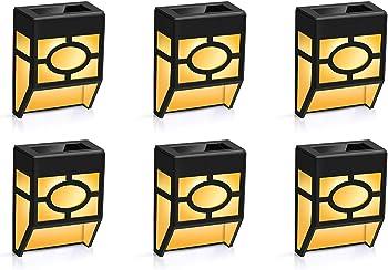 6-Pack Winmor Solar Wall Light