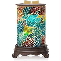 Giggle House Mosaic Electric Wax Melt Warmer Candle Waxing Warmer Burner Melt Wax Cube Melter Fragrance Warmer- Ideal Gift for Wedding, Spa and Aromatherapy.