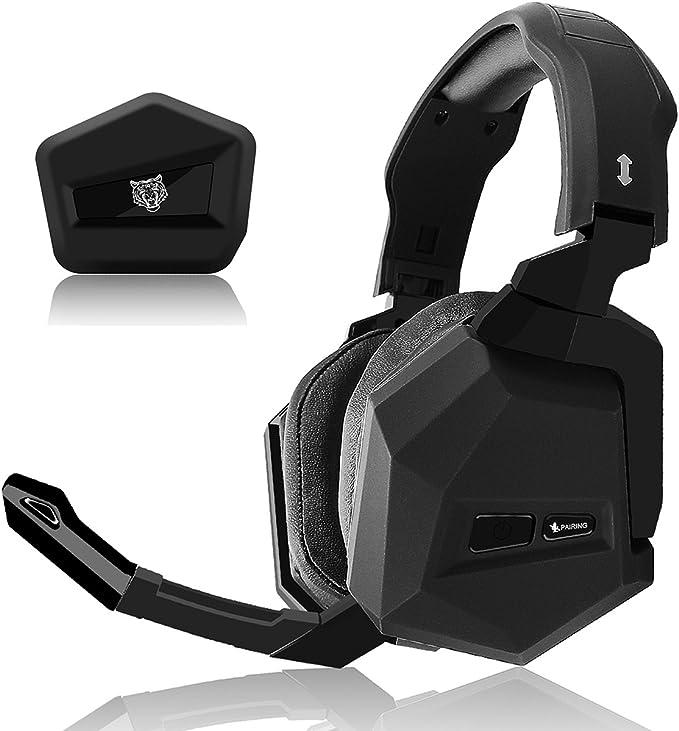 WASUNNY Auriculares inalámbricos para juegos de 2,4 GHz para Xbox ...