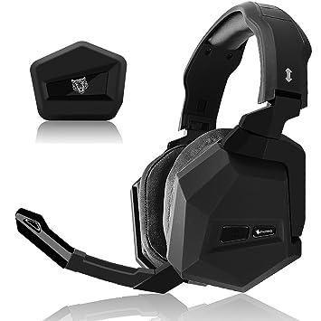 WASUNNY Auriculares inalámbricos para Juegos DE 2,4 GHz para Xbox One/Xbox 360/PS4/PS3/MAC/PC Auriculares Estéreo: Amazon.es: Electrónica