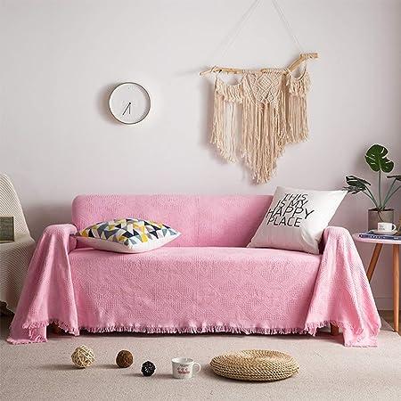 AILY Sofá Manta Nordic hogar Decorativo de algodón Super Suave ...