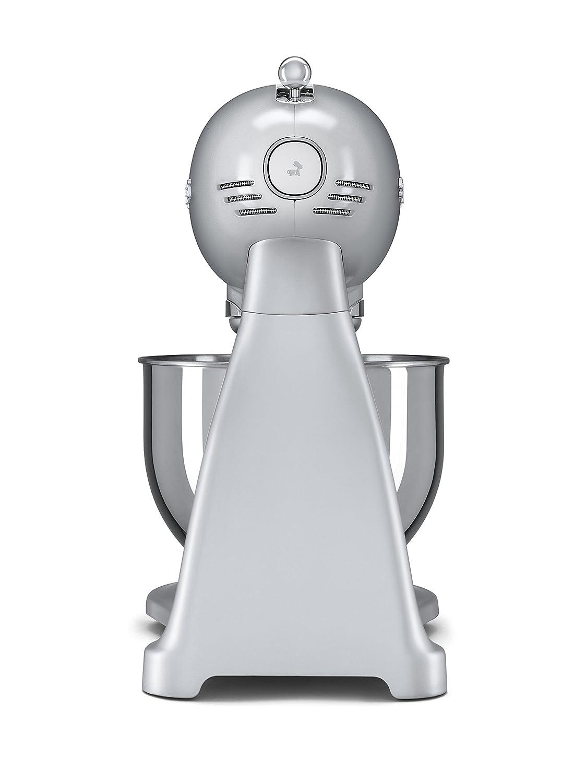 Robot da Cucina SMF01SVEU Argento SMEG Impastatrice planetaria