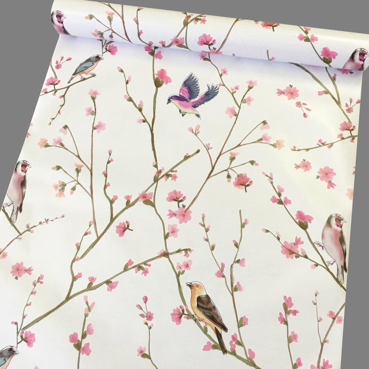 Rose Fleur Floral Vinyle Noir Self Adhésif CONTACT Wall Papier Peel Stick