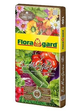 Floragard Bio Mini Garten ohne Torf 40 L • Universalerde • für ...
