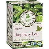 Traditional Medicinals Organic Raspberry Leaf Herbal Tea, 16 Tea Bags (Pack of 1)
