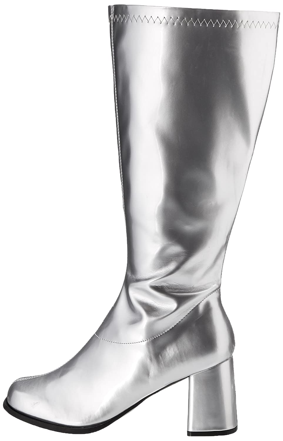 Ellie Shoes Women's Go-Go Boot B00FMWG0Z0 13|Silver